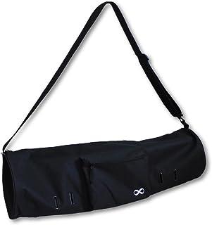 """YogaAddict Grote Yoga Pilates Mat Tas en dragers Compact met zakken, 28 """"x8"""" & 29""""x11"""" lang, geschikt voor de meeste matgr..."""