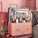 EIU - Organizer per trucchi, per riporre oggetti di grandi capacità, impermeabile, antipolvere, per vestitini, camera da letto, bagno, regalo