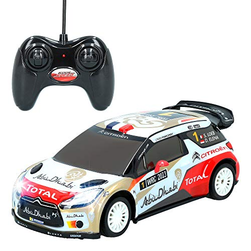 ColorBaby -  Coche rc escala 1:20 Citroen DS3 WRC CBtoys (46278)