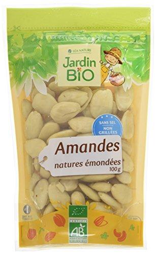 Jardin Bio Amandes Emondées Bio 100 g