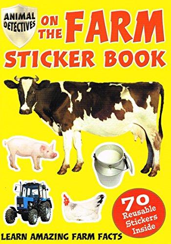 Auf die Farm: Sticker Buch