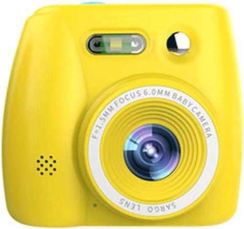 Kinder Digitalkamera Spielzeug kann Fotos Video Baby Fotografie Mini HD Kinder Urlaub Geburtstagsgeschenk nehmen (Farbe   Gelb, Größe   32GB)