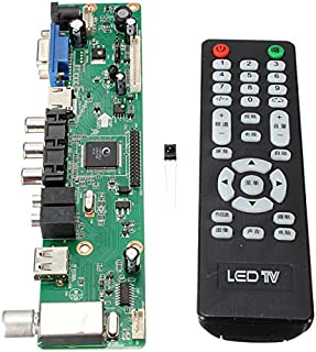 Quickbuying 1PCS Universal LCD Controller Board Resolution TV Motherboard VGA/HDMI/AV/TV/USB HDMI Interface Driver Board