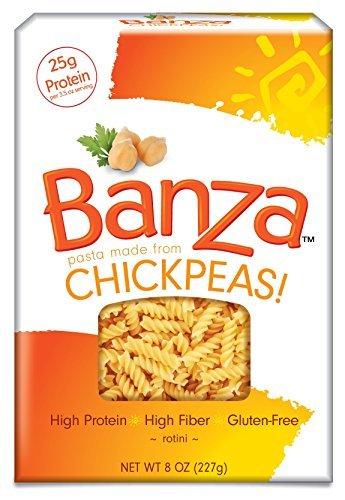 Banza Chickpea Pasta Rotini Luxury by Popular brand BANZA