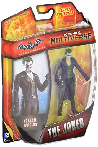 DC Comics Multiverse 4 Arkham Origins The Joker Action Figure by Mattel