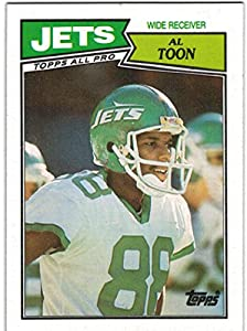 1987 Topps New York Jets Team Set with Mark Gastineau & Al Toon - 19 NFL Cards
