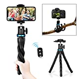 Best Flexible Tripod For Cell Phones - Flexible Phone Tripod, Aureday Adjustable Cell Phone Camera Review