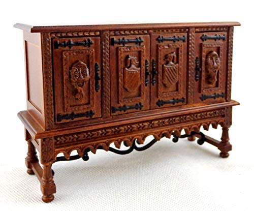 Melody Jane Dollhouse Spanish 17th C Credenza Cabinet Miniature JBM Furniture