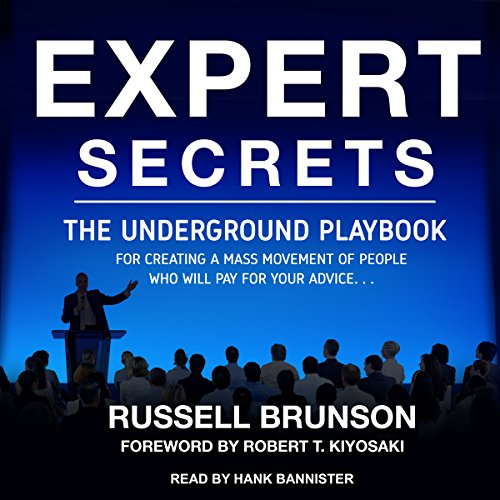 Expert Secrets audiobook cover art