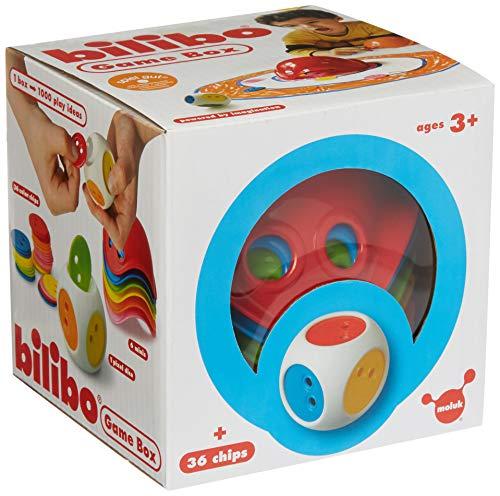 Active People 3530160 Jeu Bilibo avec 1 dé, 36 jetons de 6 Couleurs différentes Rouge/Jaune/Vert/Bleu/Rose/Orange