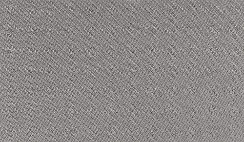 Tela para techo de coche, venta por ½ metro, color gris plomo, acoplada con goma espuma de 3 mm, fabricada en Italia