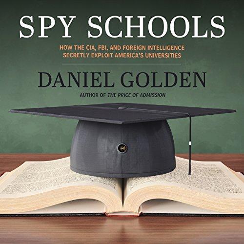 Spy Schools audiobook cover art