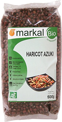 Azuki Fagioli - Azuki Rossi - Azuki Bio | 500g | Markal