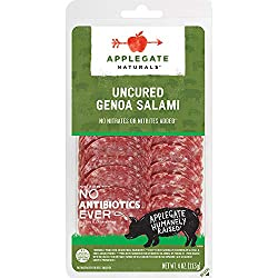 Applegate, Natural Uncured Genoa Salami, 4oz