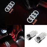 ANKIA 2 Pcs Porte De Voiture LED Logo Lumière Laser Projecteur Lumières Fantôme Ombre Bienvenue Lampe Courtoisie Lumière