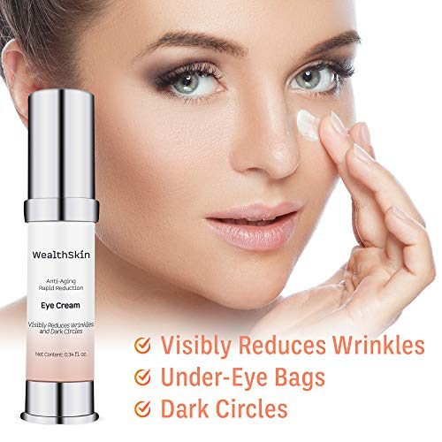 51LvyFXxbLL - Anti-Aging Rapid Reduction Eye Cream Visibly Reduce Under- Eye Bags, Wrinkles, Dark Circles, Fine Lines & Crow's Feet Instantly 2 minutes