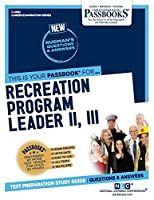 Recreation Program Leader II, III