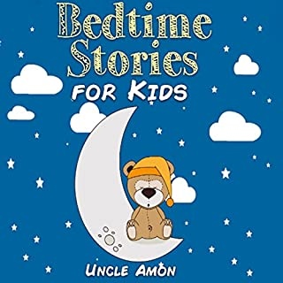 Bedtime Stories for Kids audiobook cover art