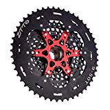 VAILANG Volante de Bicicleta de montaña MTB Black XD Cassette Volante de 12 velocidades 9-50T