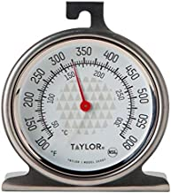 Taylor Precision Products Oven Dial Thermometer, 1, Stainless Steel/Black