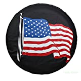 Tsofu Spare Tire Cover PVC Leather Waterproof...