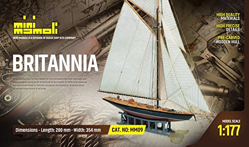 MINI MAMOLI - Modello Kit Barca Britannia Serie Scala 1:177