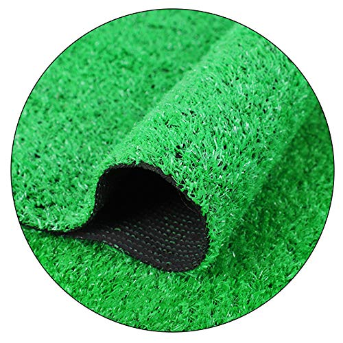 Césped Artificial Verde 10mm, Tapete De Alfombra De Césped Sintético Simulado Para Jardín, Decoración Interior / Exterior, Antideslizante, No Se Decolora Y Se Puede Cortar, Ancho 2 M(Size:2×5M)