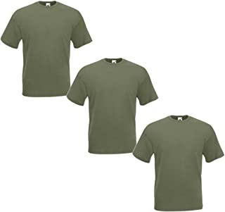 Fruit of the Loom Men's T-Shirt (Pack of 3)