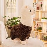 FFDGHB Tierkissen Puppe PlüSchtiere Alpaka PlüSchkissen GefüLltes Spielzeug Kindergeburtstag, Valentinstag 55Cm