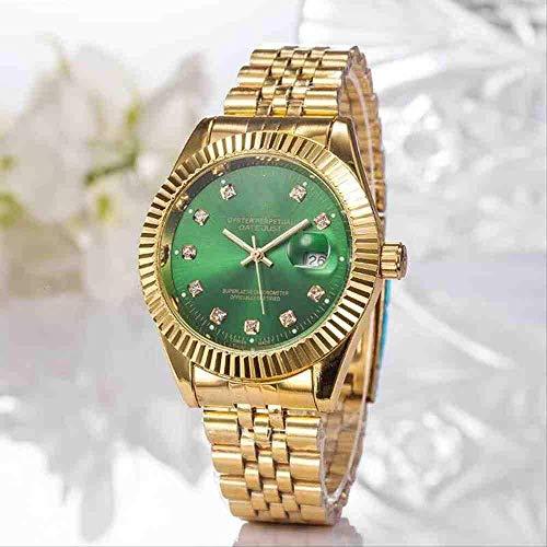WMYATING Exquisito, Hermoso, decente, novedoso y único. Relojes de Pulsera Correa de Acero Moda Hombres de Alta Gama y Relojes para Mujer (Color : 5th)