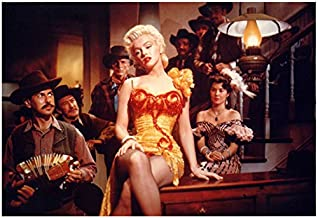 Marilyn Monroe 8 inch x 10 inch PHOTOGRAPH Some Like It Hot The Seven Year Itch Gentlemen Prefer Blondes Seated on Top of Piano Singing Sad Song kn