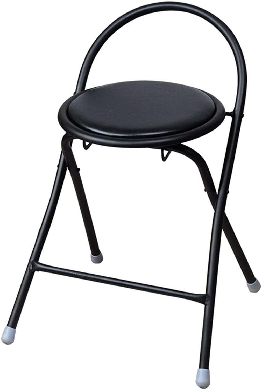 Camping Chair Folding Chair Casual Simple Home Portable Computer Dining Chair Black