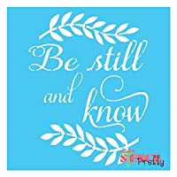 Be Still and Know Stencil Multipack (XS, M, XL) SMP-EB66-XS-M-XL