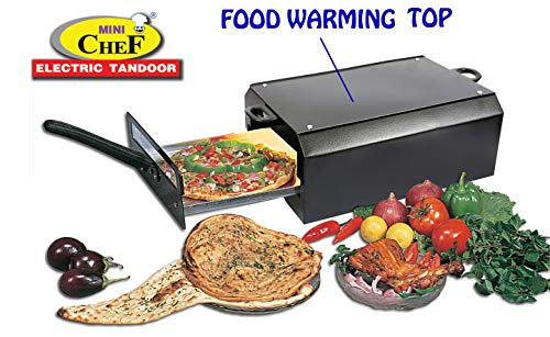 3. Mini Chef Electric Tandoor With Heat Proof Stand + 2Pc Magic Cloth