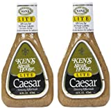 Ken's Light Caesar Dressing, 16 Ounce, 2 pk