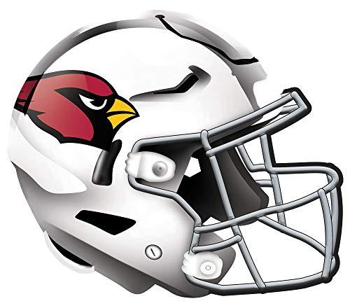 Fan Creations NFL Arizona Cardinals Unisex Arizona Cardinals Authentic Helmet, Team Color, 12 inch