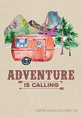 Camping Journal & RV Travel Logbook, Red Vintage Camper Adventure: Road Trip Planner, Caravan Travel Journal, Glamping Diary, Camping Memory Keepsake ... Series) (Adventure Journals & Log Books) by CreateSpace Independent Publishing Platform