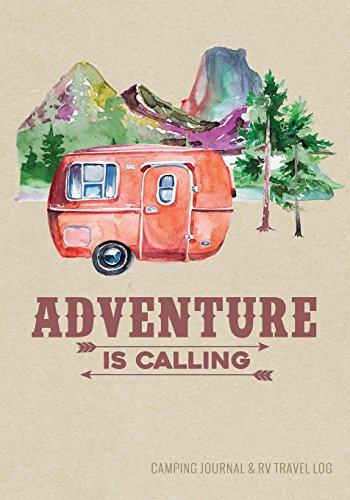 Camping Journal & RV Travel Logbook, Red Vintage Camper Adventure: Road Trip Planner, Caravan Travel Journal, Glamping Diary, Camping Memory Keepsake ... Series) (Adventure Journals & Log Books)