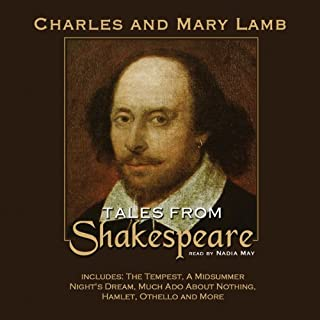 Tales from Shakespeare audiobook cover art
