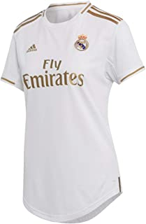 adidas Women's Real Madrid Home Jersey 2019-20 (White/Gold)