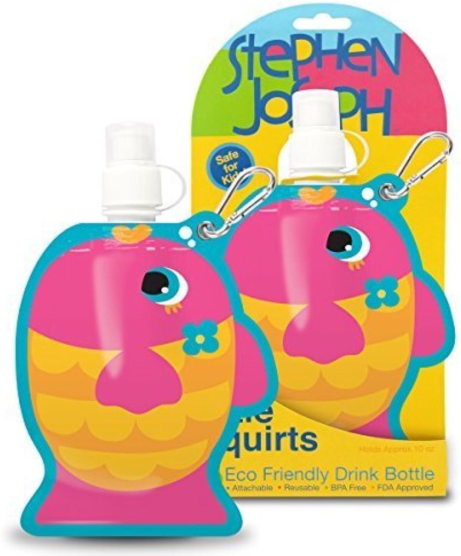 Stephen Joseph Little Squirts Fish Water Bottle, MultiFarbe, 2-Pack by Stephen Joseph B0192DJ3EY  | Klein und fein