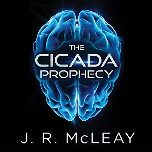 The Cicada Prophecy audiobook cover art