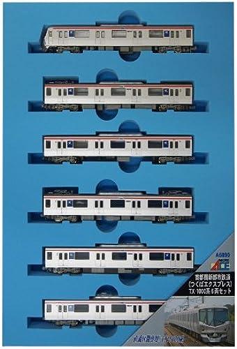 Metropolitan Intercity Railway (Tsukuba Express) Series TX-1000 (6-Car Set) (Model Train) (japan import)