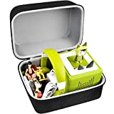 Tailor Made Carrying Case for Toniebox Starter Set:Storage Organizer suitable for Tonies figurine, Toniebox for kids, headphones, mini toys, charger station and more accessories. Holder box Keep all toniebox and figures safe and well organized. (Not ...