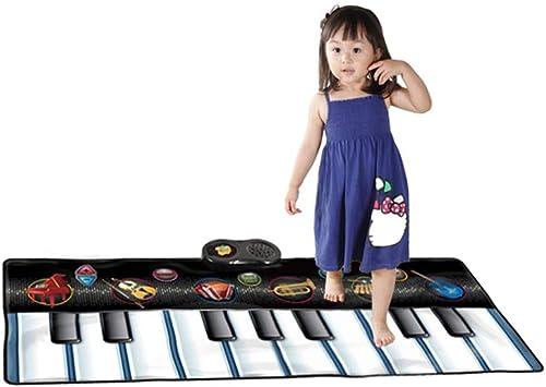 Xgxyklo Clavier Tapis De Danse InstruHommest De Musique Enfants Géant Piano électronique Musique Jeux De Fête InstruHommest De Jouet éducatif