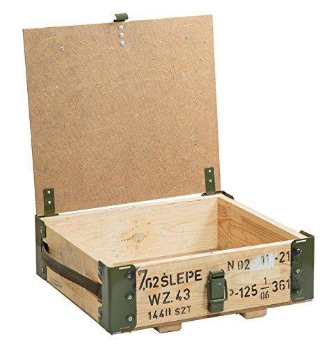 """Munitionskiste""""7.62 Slepe"""" Aufbewahrungskiste Maße ca 40x35x15cm Militärkiste Munitionsbox Holzkiste Holzbox Weinkiste Apfelkiste Shabby Vintage - 2"""
