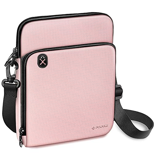 FINPAC Funda para Tablet de 11', Bolsa de Hombro Maletín con Cremallera Impermeable para iPad 10.2' 2020 2019/10.9' iPad Air 4/10.5' iPad Air 3/11' iPad Pro, Huawei T5/T3/M5, Galaxy Tab,