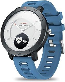 YUANP Impermeable Reloj Inteligente PulsóMetro PresióN Arterial Pulsera Actividad Inteligente con Monitor De SueñO CaloríAs GPS, Reloj Deportiva para Hombre Mujer