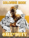 Call Of Duty Coloring Book: Nice Call Of Duty Coloring Books For Adults, Teenagers. (Colouring Pages For Stress Relief)