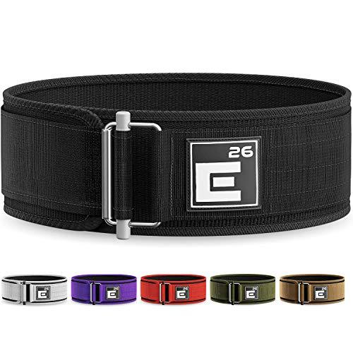 Image de la ceinture d'haltérophilie autobloquante Element 26